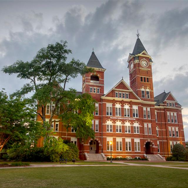 Auburn: Auburn University: Samford Hall