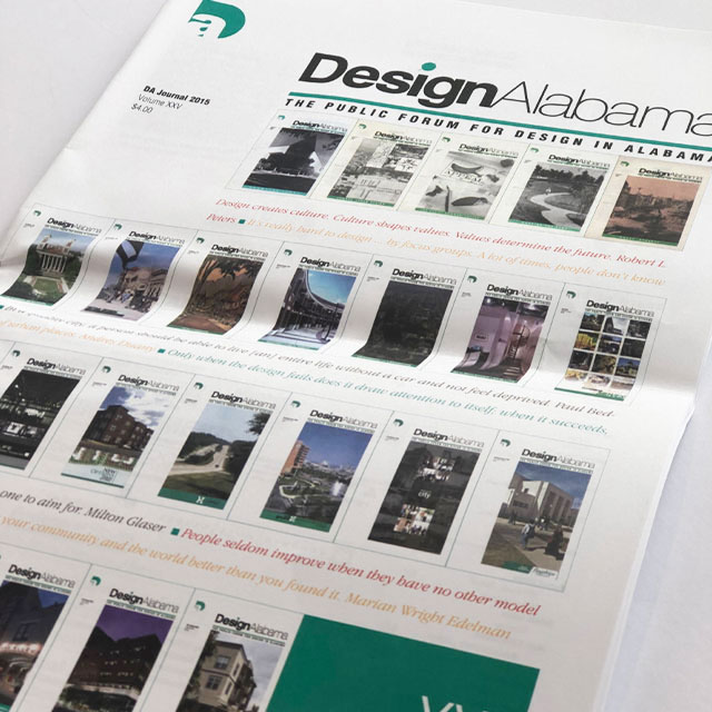DesignAlabama journal