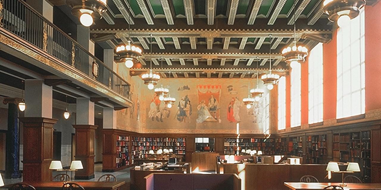 Birmingham: Interior of Linn-Henley Research Library