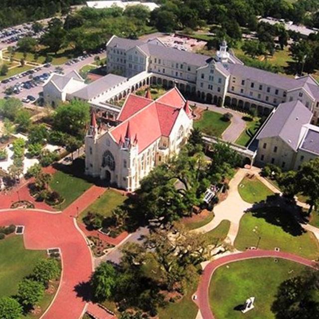 Mobile: Spring Hill College Quad
