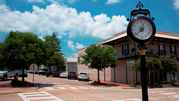 Thomasville: Central Business District