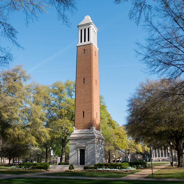 Tuscaloosa: University of Alabama Quad